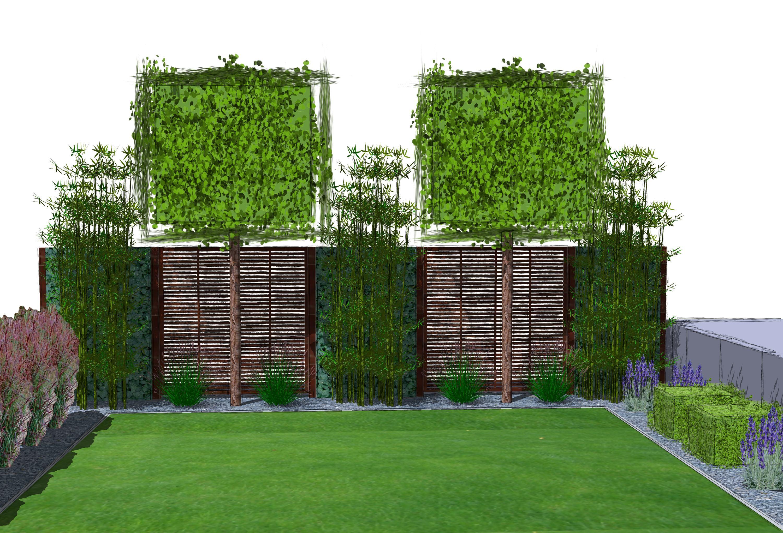 Hecke Zaun Idee Home Design Ideen