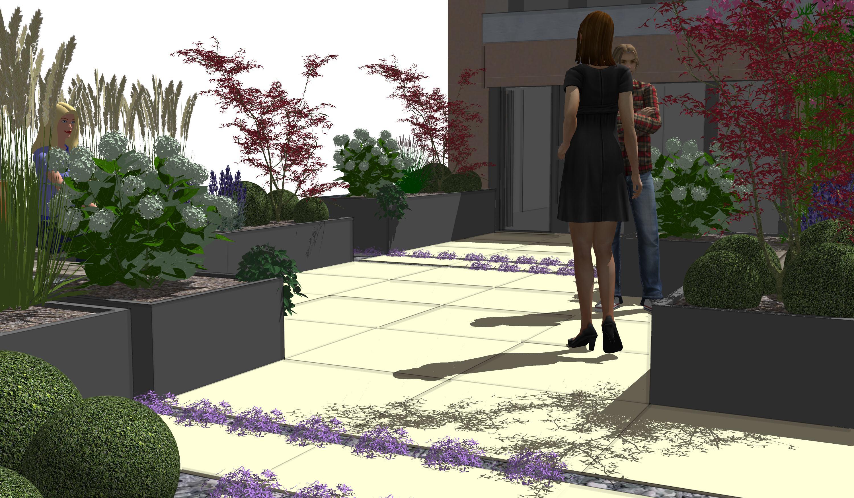 sekund rer sichtschutz moderner sichtschutz im garten. Black Bedroom Furniture Sets. Home Design Ideas