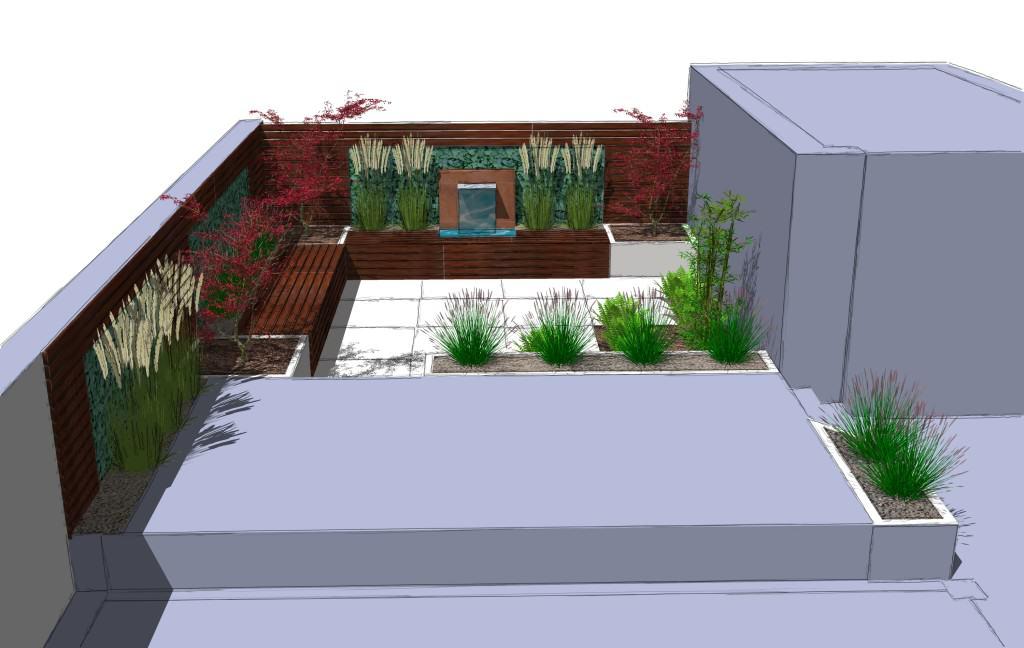 Patrick - 3/4 - Moderner Sichtschutz im Garten