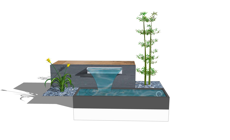 brunnen wasserfall selber bauen – airfax, Garten ideen