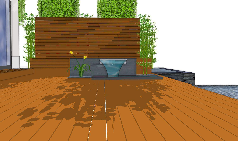 terrasse mit sichtschutz teil 1 moderner sichtschutz im garten. Black Bedroom Furniture Sets. Home Design Ideas
