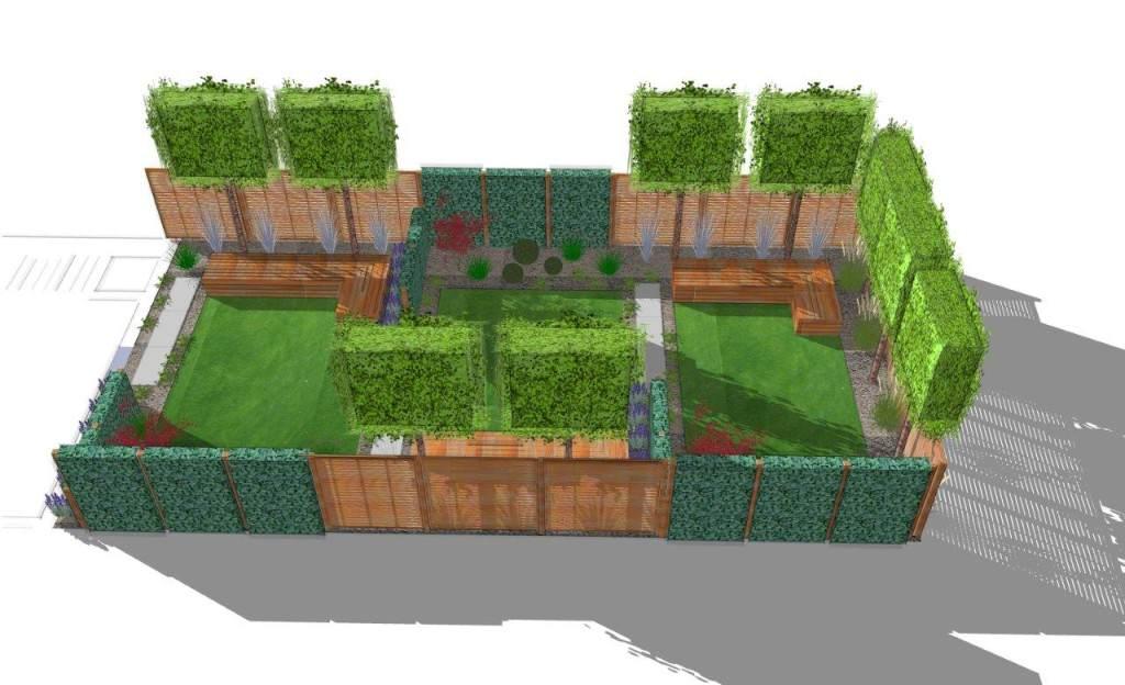 moderner sichtschutz im garten - news, informationen und, Garten und Bauen