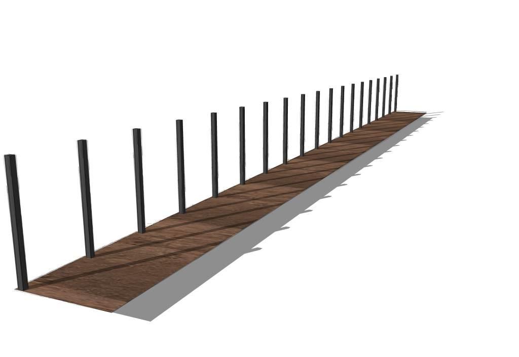 Sichtschutz-HPL, Hecke-am-laufenden-Meter, Spalierbäume und kastenförmig geschnittene Säulenbäume